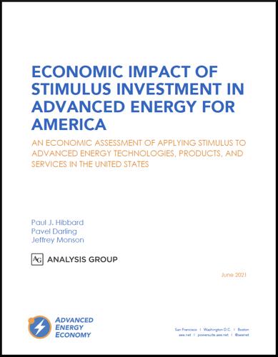 Economic Impact of Stim Invest in AE For America