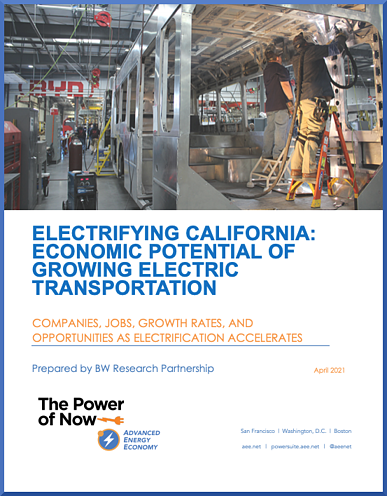 Electrrifying CA Report Cover
