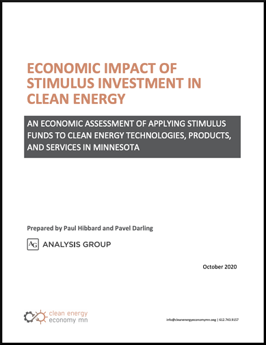 MN Econ Stim Report Cover