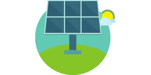 Solar Energy in Indiana Graphic