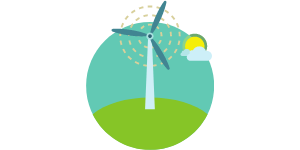 Wind Energy in Indiana Graphic