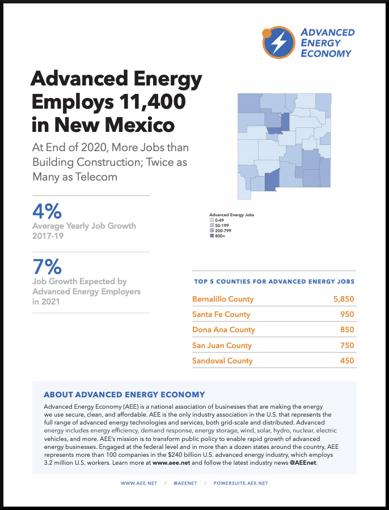 NM 2021 Job Report Cover