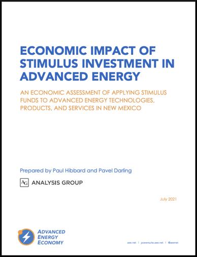 NM Stimulus Report Cover