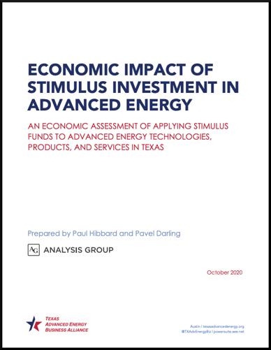 TX Econ Stim Report Cover
