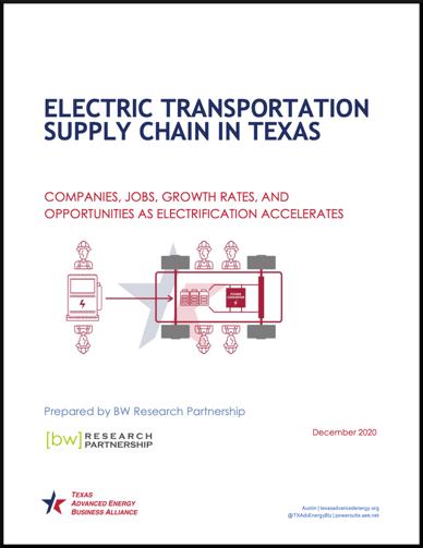 Texas EV Supply Chain Cover