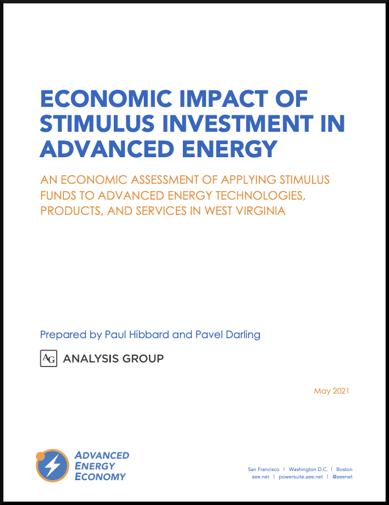 WV Econ Stim Report Cover